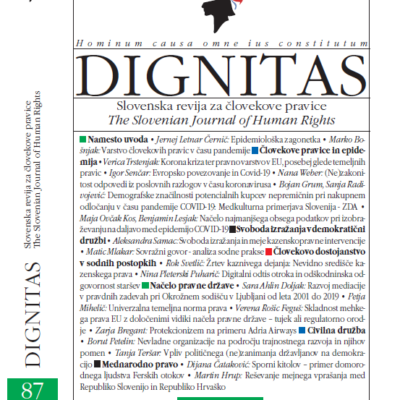 Nova izdaja revije Dignitas