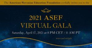 ASEF virtualna gala 2021